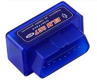 usb-diagnoseschnittstelle nissan großhandel-Hochwertiger Diagnosescanner für das Auto automotivo escaner automotriz Mini V2.1 ELM327 OBD2 ELM 327 Bluetooth-Schnittstelle