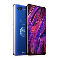 3g entriegelte einzelne sim telefon großhandel-ZTE Nubia X Handy 8GB / 128 / 256GB Snapdragon 845 Octa Core 6.26 + 5.1 '' Dual Screen 16 + 24MP Kamera 3800mAh Fingerprint Phone