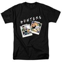 plus größenneuheitst-shirts großhandel-Männer-T-Shirt Personalisierte für Hunter X Hunter XS-3XL T-Shirt Neuheit Charakter Album T-Shirt-beiläufige kurze Hülsen-Spitze T Plus Size