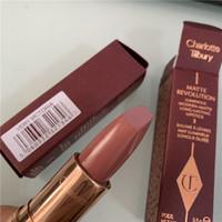 Wholesale longest lasting lipsticks online - Top Quality CT Matte Revolution luminous modern matte long lasting lipstick color