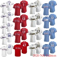 Wholesale baseball jerseys texas resale online - 2020 Texas Men s Women s Youth Ranger Rougned Odor Danny Santana Shin Soo Choo Joey Gallo Willie Calhoun Nomar Mazara NOLAN RYAN NK Jersey