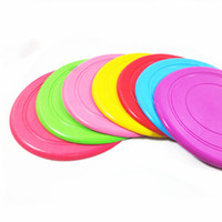 Wholesale new arriving toys resale online - New Arrive Fantastic Pet Dog Flying Disc Tooth Resistant Training Toy Play Frisbee Tide Free DHL