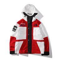 beyzbol hoodies ceketler toptan satış-Yeni 19FW erkek giyim Cordura Gore-Tex Ceketler Yumuşak kabuk spor Mont açık giyim Beyzbol Hoodies erkek rüzgarlık spor