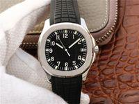 bracelets de calendriers achat en gros de-Pf-5167a-001 montre de luxe 324 automatique mouvement de la chaîne en caoutchouc bracelet de montre 316L acier verre saphir calendrier fonction de verre montres mens