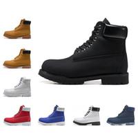 ingrosso migliori scarpe per gli uomini invernali-Timberland 2019 Stivali di marca invernali Stivaletti da neve alla caviglia di migliore qualità per uomo donna scarpe sneakers da uomo scarpe da alpinismo Designers taglia 36-45