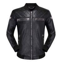 xl deri şort toptan satış-19 Deri deri erkek yaka kısa bölüm İnce Kore motosiklet motosiklet giyim ilk katman deri gençlik deri ceket