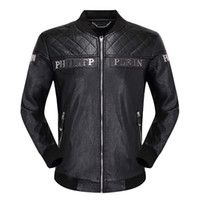 Wholesale genuine patch for sale - Group buy 19Leather leather men s collar short section Slim Korean motorcycle motorcycle clothing first layer leather youth leather jacket