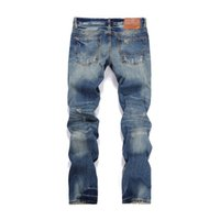d01b7bd8d33 designing jeans Canada - Fashion Tide Jeans For Men Classic Vintage Style  And Holes Personality Design