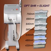 precios de la maquina laser ipl al por mayor-Equipo portátil de belleza y rejuvenecimiento de la piel con láser IPL de depilación láser del mejor precio de la eliminación de vello con luz opcional