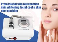 massager facial preço venda por atacado-2019 New coming Fresco e quente Eletroterapia crioterapia sem agulha mesoterapia rejuvenescimento da pele anti-envelhecimento skincare face lift máquina