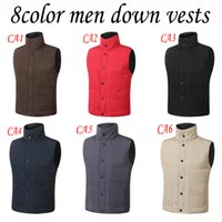 ingrosso giacche di marca d'oca-Giacca invernale di marca di trasporto libero Mens FreeStyle Vest Oca Vest Giù Giù giacca 5 colori