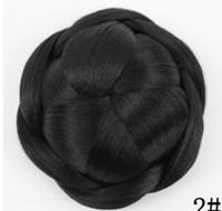 Wholesale chignon for sale - 14 New hair bag high grade silk professional hairpin bride hair fluffy short curly hair ball hairpin
