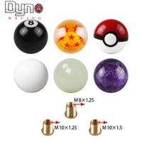 Wholesale race cars sales resale online - hot sale car Gear Shift Knob Racing Stick Cool Acrylic Shift Knob for universal car