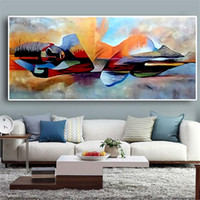 Wholesale buddha paintings for living room for sale - Group buy Watercolor Lord Buddha Abstract Oil Painting on Canvas Religious Posters and Prints Cuadros Wall Art Pictures for Living Room
