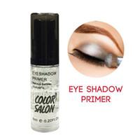 mejor paleta de base al por mayor-Color Salon Eyeshadow Primer Maquillaje Base de ojos Crema Líquido Sombra de ojos Primer Maquillaje Control de aceite Brillo Cosmético de larga duración