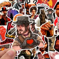 Wholesale mirror games for sale - Group buy 50 Game Red Dead Redemption Series Stickers Motorcycle Sticker For Phone Laptop Funny Graffiti Stickers Decals Pegatinas
