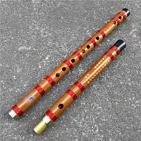 xiao instrumento chino al por mayor-Instrumentos Musicales DXH 8881 Concert Grado Profesional chino flauta de bambú Dizi 33