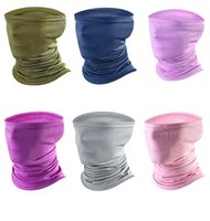 Wholesale magic hair weave resale online - Newest Mesh Magic Scarfs Outdoor mask Multifunctional Cycling Bandana Women Men Hair band Scarf Magic Party Masks