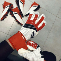 Wholesale black leather gauntlet gloves for sale - Group buy Hot AD PREDATOR PRO Goalkeeper Gloves Allround Latex Professional Goalkeeper Football Bola De Futebol Gloves Luva De Goleir