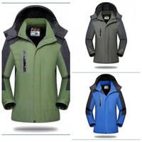 Wholesale warm jacket waterproof windbreaker for sale - Group buy Cold Proof Waterproof Mountaineering Suit Outdoor Jacket Loose Coat Pizex Men And Women Windbreak Keep Warm Ventilation Fashion ykC1