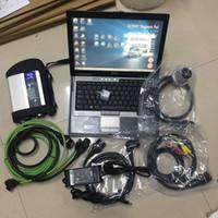 usado ecu venda por atacado-Ferramenta profissional do diagnóstico da estrela do MB 4 do profissional o mais novo Portátil-Pronto para uso Laptop V2019.05 360GB SSD D630 diagnóstico pronto para uso