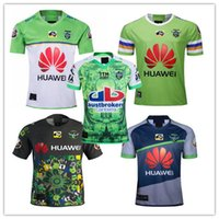 ingrosso rugby uomini pullover-2019 Raiders RUGBY JERSEY RAIDER ADULT Uomo Rugby Jersey CANBERRA RAIDERS 2019 2020 JERSEY Super Rugby taglia s-3xL