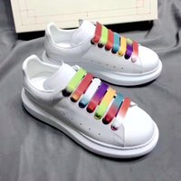 Wholesale ladies badminton shoes for sale - Group buy 2020 AIexander Genuine Leather luxurious Designer design women s shoes Cowhide Followed by flashing casual shoes Ladies fashion travel shoes