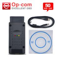 opcom pic18f458 toptan satış-50 adet / grup PIC18F458 Çip ile En kaliteli Opcom Yazılım 2014.02 Çip Can OBD2 Firmware V1.59 Opel Op com BUS Arayüzü