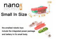 bébé électronique achat en gros de-Livraison gratuite bug nano électronique jouets pour animaux de compagnie, jouets insectes robotiques pour enfants, jouets pour bébés pour les vacances, 10pcs / lot