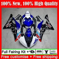 kit de carenado yamaha r6 race al por mayor-Sin rastro !! Kit para YAMAHA YZF600 YZFR6 08 12 13 14 15 16 YZF-R600 91MT26 YZF R 6 YZF-R6 YZF R6 2012 2013 2014 2015 2016 carenado de carrocería