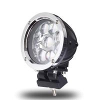 12v 45w toptan satış-5.5 Inç Yuvarlak 45 W LED İş Işık Spot Combo Offroad Makineleri Için 4WD ATV SUV Kamyon 4x4 Sürüş Far Sis Farları 12 V 24 V