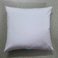 Wholesale cotton canvas pillow cover wholesale for sale - 30pcs All Size Plain White Color Pure Cotton Canvas Pillow Cover With Hidden Zipper For Custom DIY Print Blank Cotton Pillow Cover Any Color