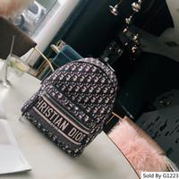 Wholesale denim school bag for sale - Group buy latest arrival women s backpack brands Di or school bag CM European American