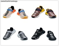 Wholesale human being shoes resale online - Pharrell Williams Equality Human Race Shoes Running Shoes Nerd Black Human Being Tanger Mens Shoes Women Sneak