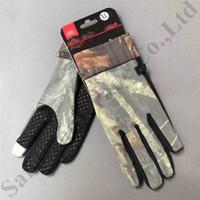 otoño guantes hombres al por mayor-UA Touch Screen Gloves Brand Thin Camoouflage Glove Designer Fashion Unisex Handwear Men Women Cool Style Gloves Autumn Winter Glove C9507