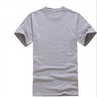 modal t shirts homens venda por atacado-Camisetas 2019 Novos Homens de Verão Modal Sólida T Camisa em branco pure color Casual Tees Simples 100% algodão O-pescoço de Manga Curta T-shirt Slim XXXL