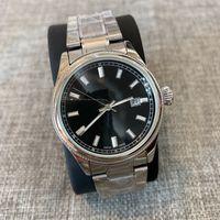 господа часы оптовых-Мода Мужской Высочайшее качество Новые часы 38 мм Мужские часы Роскошные Кварцевые Часы Джентльмен Часы Relogio Montre популярные наручные часы из нержавеющей стали