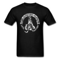 hombres varoniles al por mayor-Vintage T-shirt Eat Sleep Box Repetir Camiseta Personalizada Boxer Camisetas Hombre Negro Ropa 100% Algodón Tops Camisetas Manly Streetwear