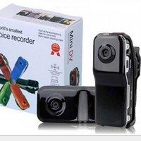 casus video kamera sesi toptan satış-HD MD80 Dijital Hediye Kamera Açık küçük Mini MD80 DVR Kamera Gizli Spor DV Casus Video Kaydedici Kamera Ses Aktif fonksiyonu