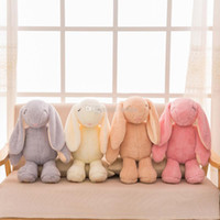 Wholesale plush stuffed monkey animals resale online - 38cm New styles short plush Bond rabbit plush toy cute Stuffed Animals pp plush rabbit dolls Girl s birthday present