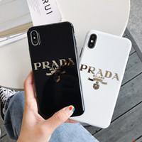 parça cep telefonu toptan satış-One Piece lüks tasarımcı telefon kılıfı iphone 6/7/8 artı xs max / XR TPU kaplama altın yüksek kalite Cep telefonu kapak stunk geri bırak nakliye