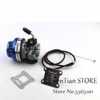 Kit carburatore carburatore e filtro aria 49cc 50cc 80cc adatto per biciclette motorizzate 37cc 50cc 80cc 2 tempi