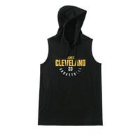 kolsuz polyester perukazalar toptan satış-Basketbol Yelek t gömlek Kolsuz hoodie Spor Salonları Giyim Eğitim Üniformaları Basketbol Formaları Sportwear Siyah Jersey Koşu Gömlek Hoodies