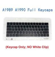 ingrosso tastiera retina macbook-Nuovi set di chiavi per tastiera USA / Regno Unito per Macbook Pro Retina 13