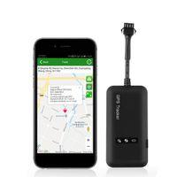gps vehículo rastreador de motocicletas al por mayor-Mini motocicleta Coche GPS Tracker Banda cuádruple vehículo antirrobo Localizador GPS GSM / GPRS / GPS Dispositivo de seguimiento de APP en línea