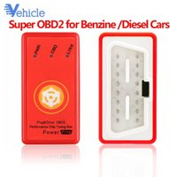 Wholesale Diesel OBD2 Cars increase engine performancePlug and Drive SuperOBD2 Performance Chip Tuning Box for Benzine Fuel Saving
