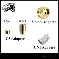 c5 ücretsiz gönderim toptan satış-Orijinal Komodo Vmod II Adaptörleri Yocan UNI Adaptörü C5 510 Konu Kartuşları Için Pil Modülü Manyetik Konnektör Halkası Ücretsiz nakliye