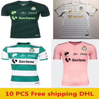 Wholesale best quality thailand soccer jersey for sale - Group buy best quality Top thailand Quality Club Santos Laguna soccer jersey Santos Soccer Jersey Laguna
