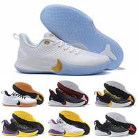 zapatillas de baloncesto rápidas al por mayor-Envío rápido 2019 Mens Original Kobe Mamba Focus Ep zapatos de baloncesto de calidad superior negro blanco deportes moda zapatillas de deporte de lujo tamaño 40-46
