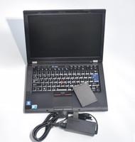probadores de estrellas mb al por mayor-El portátil I7 t410 toma el último software de diagnóstico STAR como comprobador de automóviles MB STAR C4 / C5 herramienta de diagnóstico